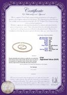product certificate: W-AA-67-S