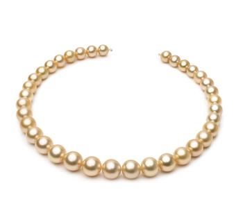 18 pollici Oro 10-13.3mm Qualità AAA - Collana di Perle Dei Mari del Sud - Oro Giallo 14k