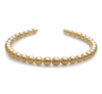 18 pollici Oro 10-13.5mm Qualità AAA - Collana di Perle Dei Mari del Sud - Oro Giallo 14k