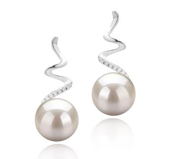 Lolita Bianco 8-9mm Qualità AAAA - Set Orecchini di Perle Acqua Dolce - Argento Sterling 925