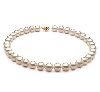 Bianco 10-11mm Qualità AA - Collana di Perle di Acqua Dolce
