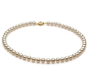 Bianco 6-7mm Qualità AA - Collana di Perle Akoya Giapponese