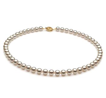 Bianco 6.5-7mm Qualità AAA - Collana di Perle Akoya Giapponese