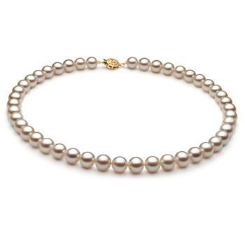 Bianco 8.5-9mm Qualità AA - Collana di Perle Akoya Giapponese