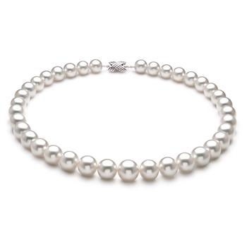 Bianco 10-14mm Qualità AAA+ - Collana di Perle Dei Mari del Sud - Oro Bianco 18k