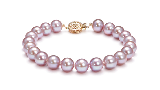 View Lavender Freshwater Pearl Bracelet collection