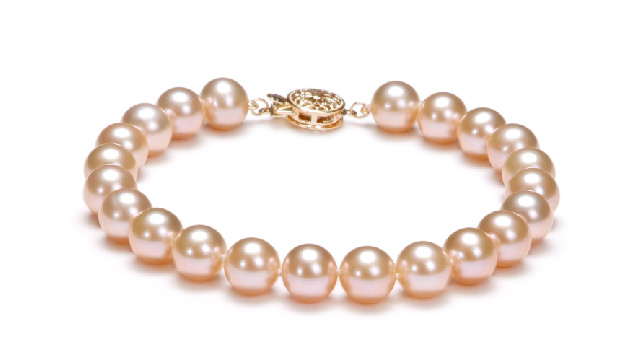 View Pink Pearl Bracelets collection