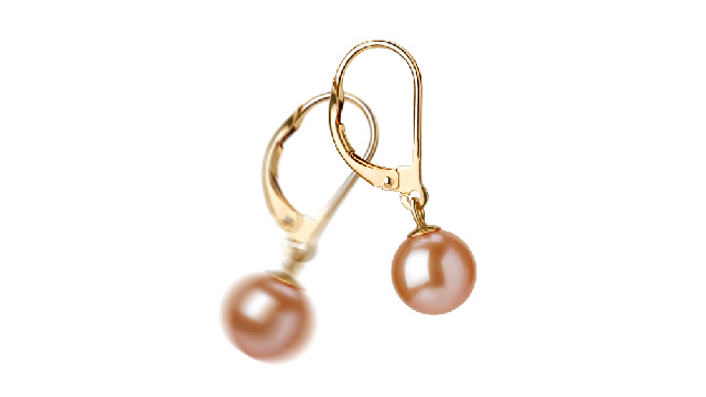 View Pink Pearl Earrings collection