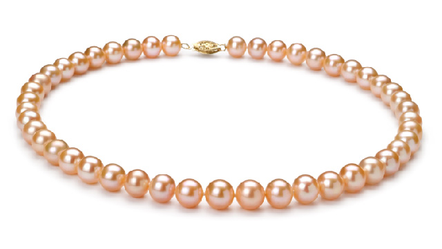 View Pink Pearl Necklaces collection