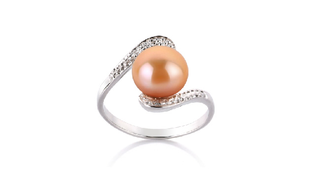 View Pink Pearl Rings collection