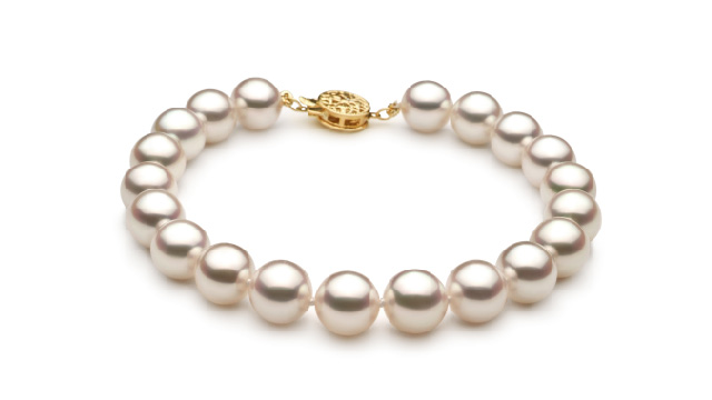 View White Japanese Akoya Bracelet collection
